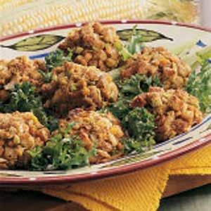 Corn Stuffing Balls Recipe