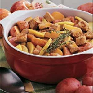Pork and Apple Supper Recipe
