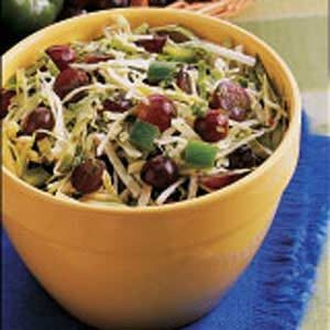 Grape and Cabbage Salad Recipe