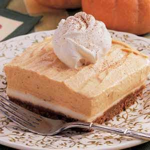 Snappy Pumpkin Dessert Recipe