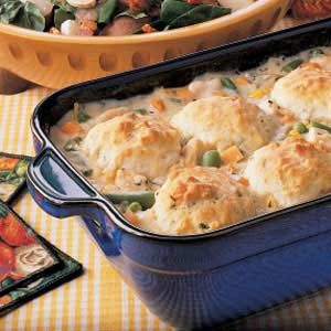 Chicken 'n' Biscuits Recipe