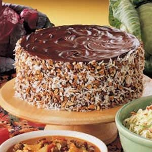 German Chocolate Sauerkraut Cake Recipe