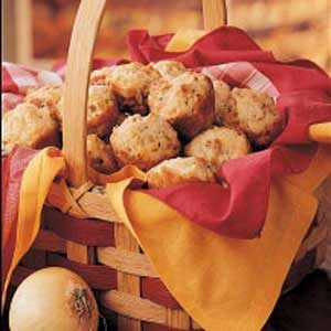 Sweet Onion Muffins Recipe