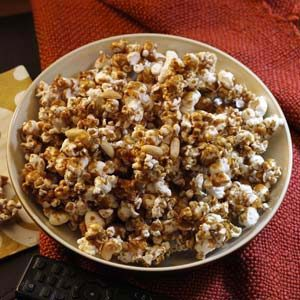 Peanut Caramel Corn Recipe
