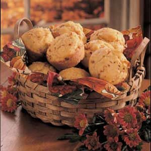 Dijon Ham Muffins Recipe