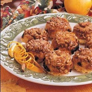 Orange-Raisin Sticky Muffins Recipe