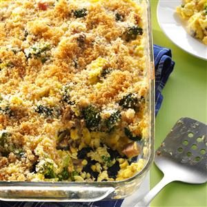 Broccoli Breakfast Casserole Recipe