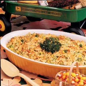 Corn State Broccoli Bake