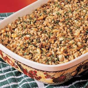 Nutty Barley Bake