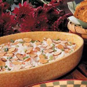 Toasted Almond Crab Dip Recipe
