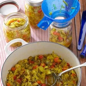 Sweet Zucchini Relish Recipe