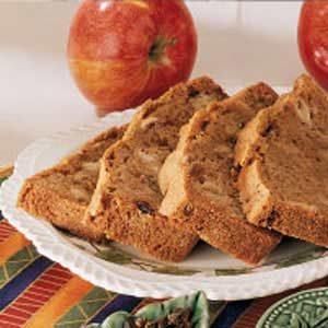 Apple Raisin Quick Bread