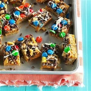 M&M Oat Bars Recipe