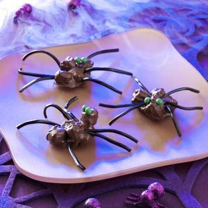 Halloween Chocolate Spiders Recipe