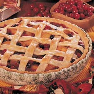 Peach Berry Pie Recipe