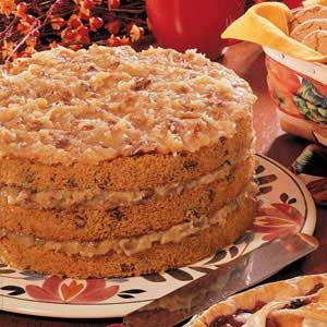 Sweet Potato Layer Cake Recipe