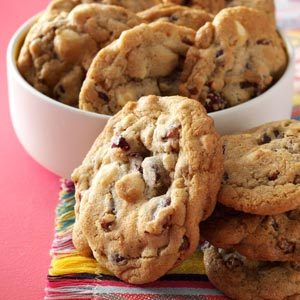 Quick Cranberry Chip Cookies