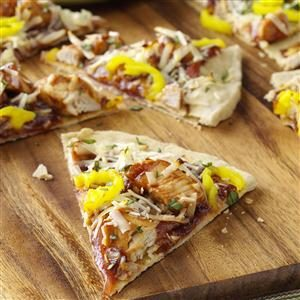 BBQ Chicken Pizzas