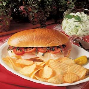 Zesty Ham Sandwich Recipe