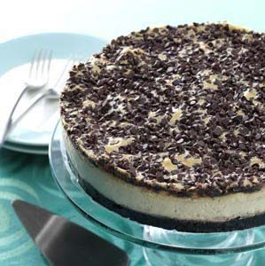Mocha Chocolate Chip Cheesecake Recipe