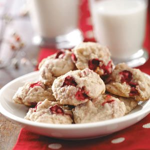 Cranberry Nut Cookies Recipe