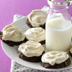 Frosted Chocolate Delights Recipe