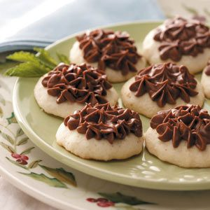 Hint o' Mint Cookies Recipe
