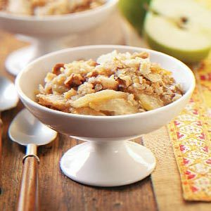 Caramel Apple Crisp Dessert Recipe
