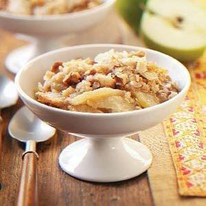 Caramel Apple Crisp Dessert Recipe