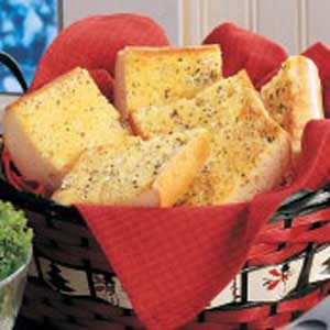 Golden Garlic Bread