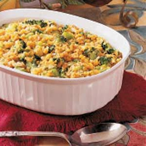 Broccoli Corn Casserole Recipe