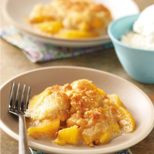 Peach Crumble Dessert Recipe