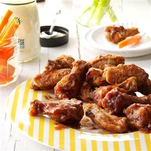 Cranberry Hot Wings Recipe