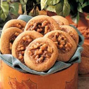 Walnut Thumbprints Recipe