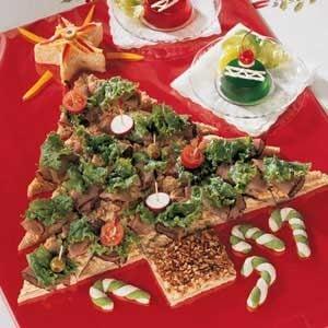 Party Sandwich Tree Recipe