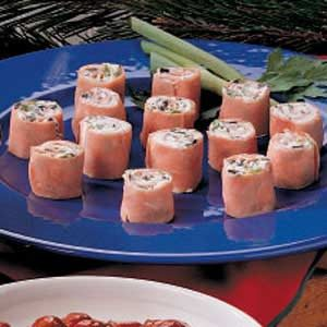 Cream Cheese Ham Roll-Ups Recipe