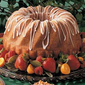 Glazed Pumpkin Bundt Cake Recipe