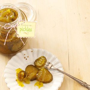 Jalapeno Bread & Butter Pickles Recipe photo by Taste of Home