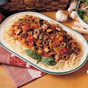 Meatless Spaghetti Recipe