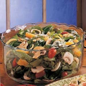Sweet Spinach and Orange Salad Recipe