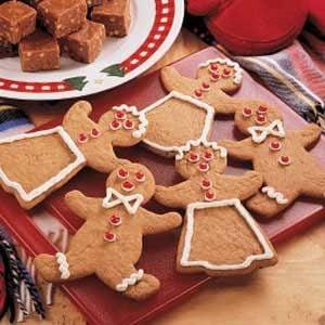 Easy Gingerbread Cutouts Recipe
