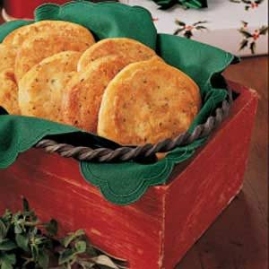 Savory Italian Rounds Recipe