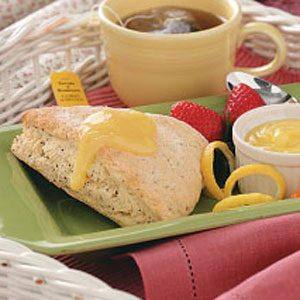 Poppy Seed Lemon Scones Recipe