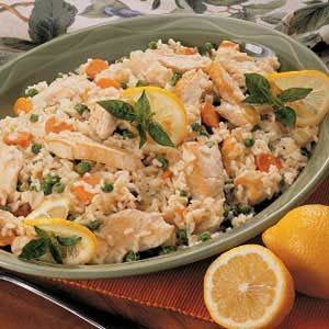 Lemon Chicken and Rice Recipe