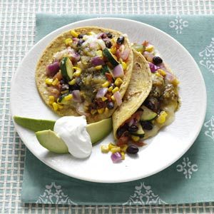 Veggie Bean Tacos Recipe