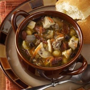 Chicken Cassoulet Soup
