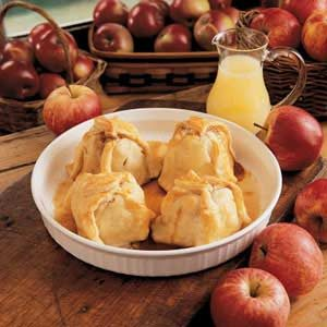 Lemony Apple Dumplings Recipe