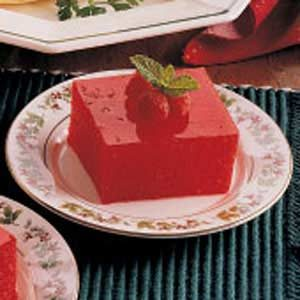 Applesauce Gelatin Squares Recipe