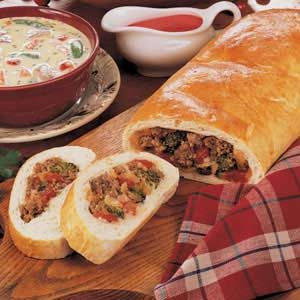 Sausage Broccoli Bread Recipe