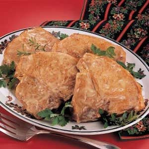 Chicken-Baked Chops Recipe